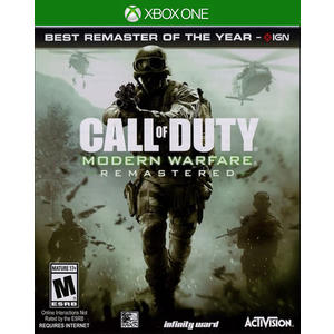 X1 Call of Duty: Modern Warfare Remastered 決勝時刻:現代戰爭 重製版(美版代購)