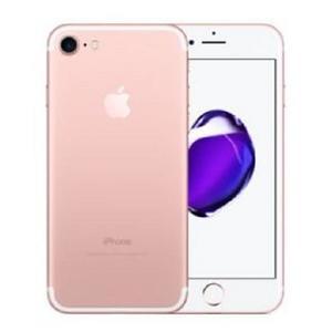 福利品 二手機/ Apple 蘋果 iphone 7 / i7 4.7吋 128G /玫瑰金/無配件/單機價/一次付清