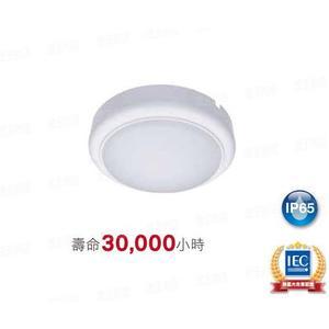 【燈王的店】飛利浦 防水型/室內外系列 LED 15W壁燈/吸頂燈 全電壓 4000K☆WL008