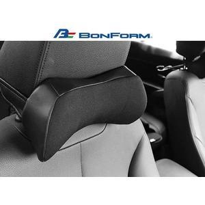 日本 BONFORM U型 姿勢調整輔助頸枕 B5334-15 骨頭頭枕 汽車靠枕 舒適頭枕 三明治網布 透氣