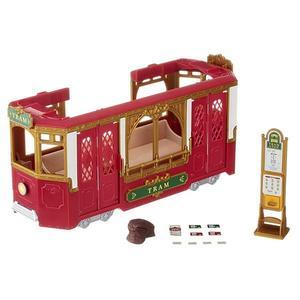 森林家族 TOWN 路面電車 (內不附人偶) 【鯊玩具Toy Shark】