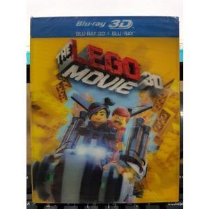 挖寶二手片-Q00-1244-正版BD【樂高玩電影 3D+2D 有外紙盒】-藍光動畫 LEGO