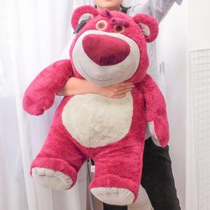 PGS7 日本迪士尼系列商品 - 進口 迪士尼 超大號 草莓 香味 熊抱哥 玩具總動員【SJZ71317】