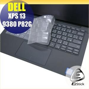 【Ezstick】DELL XPS 13 9380 P82G 奈米銀抗菌TPU 鍵盤保護膜 鍵盤膜