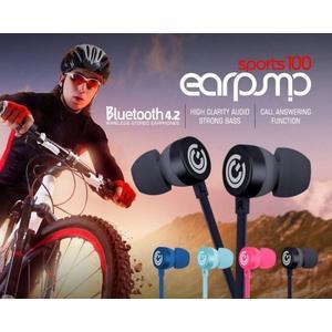 [富廉網] 【Sonic Gear】sport100 悅耳動力 運動型100藍芽耳機 黑/粉紅/淺藍