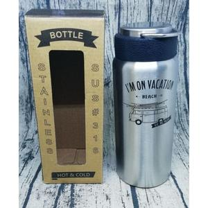 LINOX天堂鳥 櫻井屋 不鏽鋼陶瓷風保溫瓶 內膽一體成形.無接縫 316不繡鋼  陶瓷保溫杯 陶瓷保溫瓶