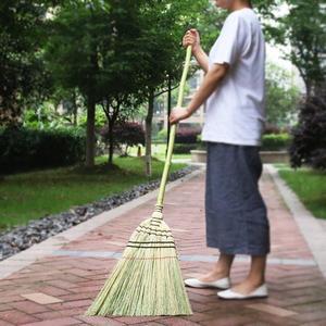 藝之初 日式庭院掃把 長柄高粱大掃帚 戶外竹掃把 掃落葉掃雨雪WD  檸檬衣舍