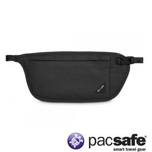 Pacsafe Coversafe™ V100 RFID 防盜腰包-黑 護照包 旅遊 度假 貼身防盜腰包 隱藏式錢包 10142100