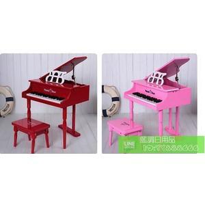 30鍵兒童小鋼琴 木質 寶寶早教玩具樂器生日節日禮物