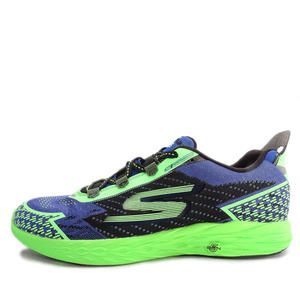 Skechers Go Run 5 Nite Owl [55000BLGR] 男鞋 運動 休閒 慢跑 舒適 輕量 藍 綠