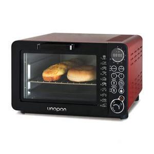 aae5790ab7b 【unopan】unopan 無油空氣油炸烤箱-14公升(紅色)