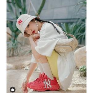 韓國代購🇰🇷MLB 腰包 滿版 NY 小logo 帽子 包包 gucci聯名款