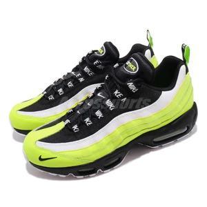 34068628ff Nike 休閒慢跑鞋Air Max 95 PRM Volt Glow 黃黑螢光黃麂皮氣墊