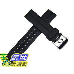 [美國直購 ShopUSA] 22mm Black Italian Rubber Watch Band for Luminox, Breitling, Omega, Swiss Army & More $828