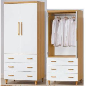 衣櫃 衣櫥 AT-332-3 寶格麗3X7尺衣櫥【大眾家居舘】