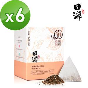 【即期品】【日濢Tsuie】花蓮4號山苦瓜暖薑茶(10包/盒)x6盒