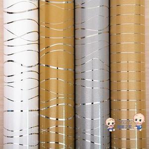壁貼壁紙 加厚新款烤漆壁紙 PVC珠光家具翻新貼紙櫥櫃衣櫃純色牆貼防水牆紙T 多色