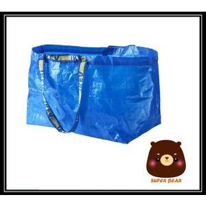 購物袋 洗衣袋 環保FRAKTA 藍色 全方位多用途/IKEA