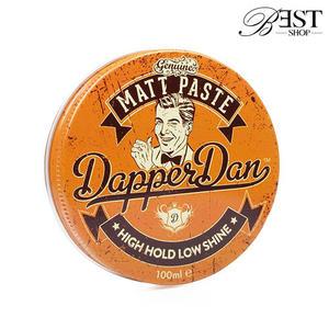 髮蠟 Dapper Dan 時髦丹 Matt Paste 凝土 髮泥 英式痞霜 黃罐 100ML【HR042】現貨+預購