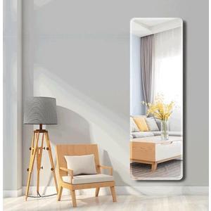 穿衣鏡 鏡子全身穿衣鏡 貼墻鏡子家用臥室試衣鏡落地鏡宿舍壁掛粘貼鏡 交換禮物
