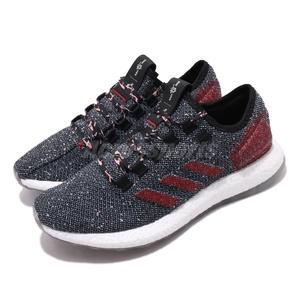 【海外限定】 adidas 慢跑鞋 PureBOOST 黑 紅 男鞋 運動鞋 【PUMP306】 B37777