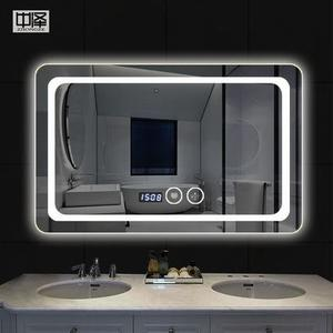 (12伏)智能led浴室鏡子 化妝鏡壁挂衛生間鏡子防霧鏡子 衛浴鏡梳妝鏡