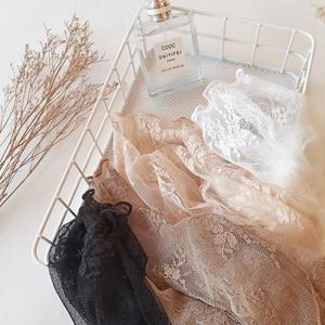 蕾絲上衣 蕾絲打底衫女長袖2019秋冬新款高領內搭超仙紗衣性感薄紗網紗上衣【星時代女王】