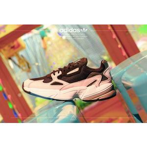 ISNEAKERS Adidas Originals Falcon W 老爹鞋 愛迪達 黑 粉 女鞋 B28126