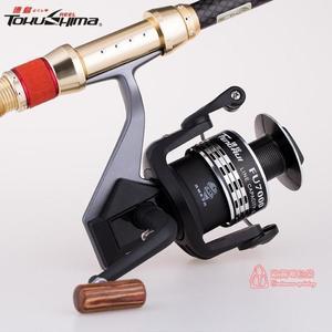 捲線器 海竿魚輪全金屬支架魚線輪漁線輪磯釣紡車輪無間隙漁輪