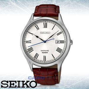 CASIO 手錶 專賣店   SEIKO 精工 SGEG97P1  男錶 石英錶 皮革錶帶 藍寶石水晶 防水 全新品