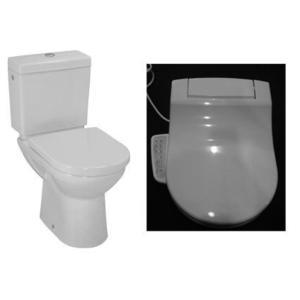 【麗室衛浴】瑞士原裝 laufen PRO 雙體落地式馬桶82495.7+電腦馬桶蓋 CleanetPro F-89288.1