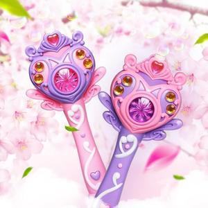 泡泡機 兒童仙女魔法棒吹泡泡機全自動不漏水神電手動玩具器安全 芭蕾朵朵YTL