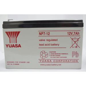 全館免運費【電池天地】湯淺鉛酸蓄電池NP7-12  12V,7Ah  緊急照明燈 UPS不斷電系統