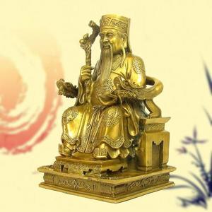 土地公神像擺件工藝品風水土地婆銅器佛像裝飾品 萬客居