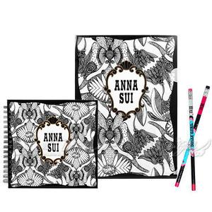 ☆17go☆ ANNA SUI 安娜蘇 魔法星願文件夾+魔法星願筆記本+DOLLY GIRL 鉛筆組