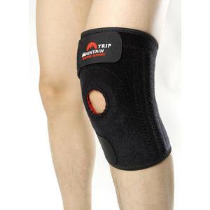 又敗家@山行四根金屬彈簧條護膝彈簧護膝蓋護具,中央開口適地板工作運動護膝單車腳踏車自行車