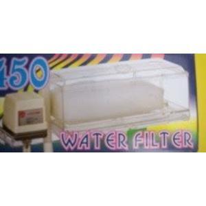 [ 台中水族 ] 飛魚 上部單層過濾槽套裝組 -透明 1.5尺 +含揚水馬達18L/H 特價