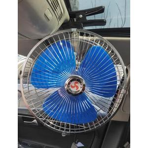 車載風扇24v大貨車制冷強力汽車面包車用電風扇12v伏小車內電風扇