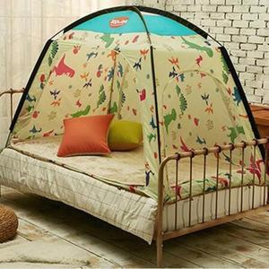室內帳篷保暖帳篷床上帳篷透氣兒童遊戲屋冬季防風防寒屋120*200