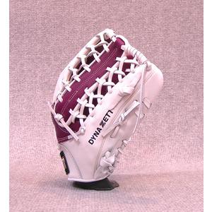 「野球魂中壢店」--「ZETT」特別訂製棒球壘球手套(外野手,39SP0239,紫×白色,牛舌檔)