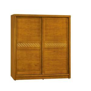 【新北大】✪ P115-8 傑森柚木色6x7尺衣櫥-18購