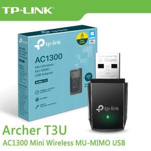 【免運費】TP-LINK Archer T3U AC1300 MU-MIMO 雙頻 無線網卡 USB3.0