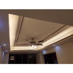 智能燈帶led霓虹燈條超亮客廳吊頂白光裝飾220v長條線燈240燈珠☌zakka
