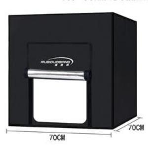 小型攝影棚拍照燈箱迷你 LED攝影燈 簡易攝影箱飾品珠寶拍照 居家