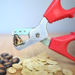 不銹鋼瓜子鉗剝殼器家用磕葵花籽工具剝西瓜子神器南瓜子堅果夾子  『歐韓流行館』