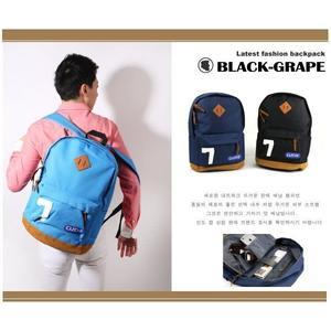 LECAF經典風- 7字型豬鼻後背包/多袋內裏/ 15.6吋 筆電背包【C2014】黑葡萄包包