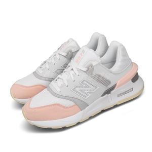 New Balance 休閒鞋 NB 997S 白 灰 粉紅 女鞋 運動鞋 復古慢跑鞋 【PUMP306】 WS997GFJB