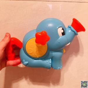 寶寶洗澡玩具嬰兒童大象電動向日葵花灑戲水螃蟹泡泡機男女孩 小天使