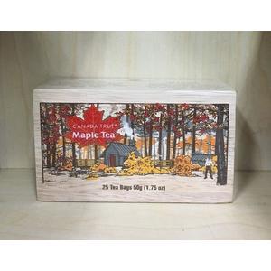 加拿大多倫多精緻木盒風味楓葉茶 50G 25小包 網路價$295