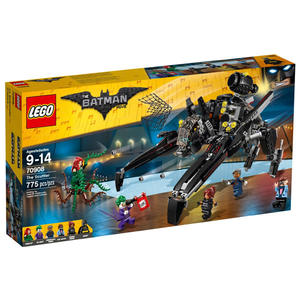 【LEGO 樂高積木】 Batman Movie 蝙蝠俠電影系列-蝙蝠疾行者 LT-70908